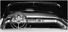 1957 Ford Thunderbird Convertible Interior  Panoramic  8 x 19 photograph