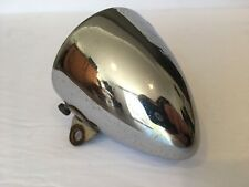 "Vintage Miller Bicycle Light Housing Chrome 3"" OD"