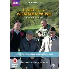 Last of The Summer Wine Series 27 and 28 DVD Region 2 2015