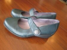 DANSKO Adelle Green Leather Mary Jane Shoes Size EU40 US9.5-10 $150 MSRP