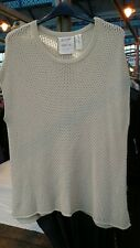 GOOSE COLLECTION SQUARE KNIT POPOVER L/XL