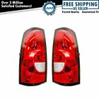 Tail Lights Taillamps Pair Set For 2004-2007 Chevrolet Silverado 1500 2500 3500  for sale