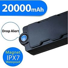 Waterproof Magnetic Portable GPS TRACKER 20000mAh Realtime Theft Car Vehicle