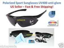 Polarized UV400 Sunglasses Sports Driving Cycling Fishing Eyewear Golf Running