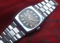 USSR wristwatch Slava Sekonda tank 2427 vintage watch soviet russian