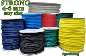 Braided Rope Washing Clothes Line Rope Poly Rope Polypropylene Sailing Boat Camp