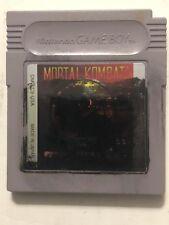 Mortal Kombat (Nintendo Game Boy, 1993) DMG-C9-USA