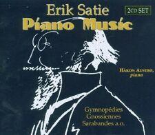 HAKON AUSTBO - PIANO MUSIC 2 CD NEW+ SATIE,ERIK