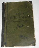 Antique School Atlas Book Maps German Diercke Schulatlas Für Höhere Lehranstalte