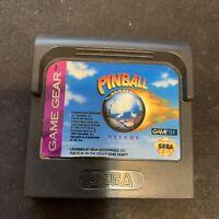 Sega Game Gear Pinball Dreams 1994 Video GameTek Game Cartridge And Case