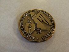 CHALLENGE COIN OLDER PRIVATE COLLECTION AUSA WASHINGTON DC OBJECTIVE FORCE 2001