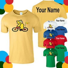 Spotty Pudsey Personalised T Shirt Cycling Children In Need Dotty Spot Charity