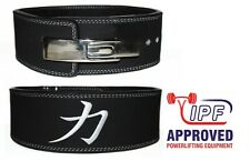 STRENGTH SHOP 10mm BLACK Powerlifting Lever Belt (M) - squats deadlifts gym sbd