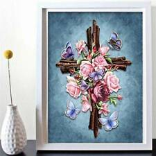 Adults Home Wall Decoration Full Drill Paintings Pictures Cross Arts Crafts 6n