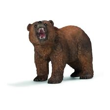 Schleich Grizzly Bear Animal Figure NEW IN STOCK Educational