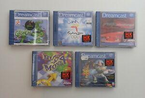 Sega Dreamcast PAL games sealed new nuevo neuf nuovi neu nowy νέος