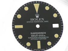 Black dial Rolex Submariner ref. 1680 original new