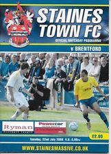 Staines Town v Brentford - Pre-Season Friendly 22nd July 2008 - UK FREEPOST