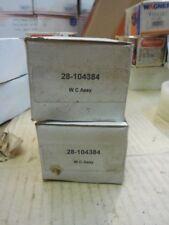 80-87 Chevy Chevette Set Of Rear Drum Brake Wheel Cylinders 104384 G199