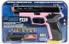 328 FPS SIG SAUER P226 LICENSED PINK SPRING AIRSOFT PISTOL HAND GUN +6mm BB BBs
