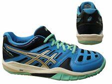 Asics Gel-Bola Azul Con Cordones Deportes Correr Zapatillas para mujer E464Y 4093 X12B