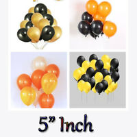 NICE 5 Inch 2 COLOUR Combination Air Latex Balloons For All Party Decorations UK