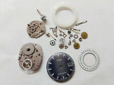 TIMEX Watch Mechanical Movement&Dial for Replacement or Repair Uhr-Reloj-Montre