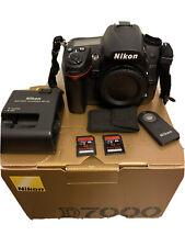 Nikon D7000 16.2 MP Digital SLR Camera - Black (Body Only) Incl. ML-L3 2x32GB SD