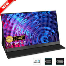 """NEWSOUL 15.6"""" Super Thin Portable Gaming Monitor USB-C For Computer Laptop PS4"""