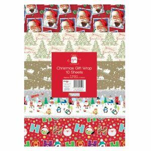 Christmas Wrap 50 x 50 - 10 Sheets