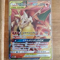 Pokemon card Charizard & Braixen GX RR 008/064 Remix bout SM11a tag team