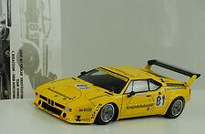 1979 BMW M1 #81 E26 DRM Kreistelefonbuch Norrisring Regazzoni 1:18 Minichamps
