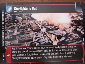 Star Wars TCG ANH Starfighter's End