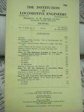 The Institution of Locomotive Engineers journal issue number 304 of 1965-66 VGC