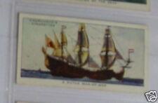 #22 a dutch man-of-war boat/ship card