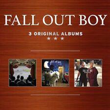 FALL OUT BOY - 3 ORIGINAL ALBUMS  3 CD NEW!
