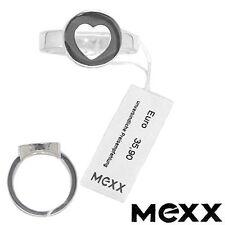 ANGEBOT: MEXX  DAMEN RING SILBER HERZ GRÖSSE 17/53 NEU SCHMUCK ALS GESCHENK