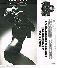 PUBLICITE ADVERTISING 065  1975  FUJICA  ST 801   appareil photo