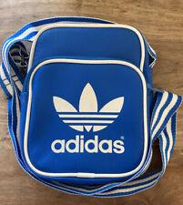 Adidas Small Crossbody Messenger Bag Blue