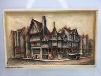 Osborne IVOREX Cream Wall Plaque, The Rows Chester, 29cm x 19cm, Made in England