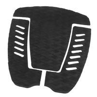 Traction Stomp Pad, Surfboard Tail Grip, Deck Pad SUP Surf Paddle Black