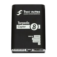 Two Notes Audio Engineering Torpedo CAPTOR Reactive Loadbox DI Attenuator, 8-ohm