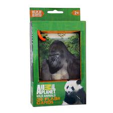 Smart Play - Animal Planet 3D Flash Cards, Wild Animals