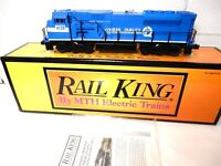 MTH Railking # 30-2120-1 Conrail SD-90 Mac Diesel Blue/White wth Protosounds!TRO