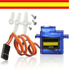 SERVO 9g SG90 MICROSERVO 1.6 KG MODELISMO ARDUINO ROBOTICA (Ref. 035)