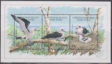 Christmas Island Sc. 270 - 273, 274 World Wildlife Fund Birds 1990 MNH