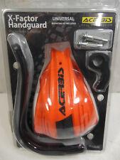 Acerbis X-Factor Orange / Black Handguard Kit Universal Handlebar Mount  #B1620