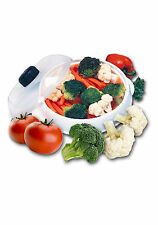 Microwave Steamer veg & fish steamer from Neat Ideas vented lid healthy cooking