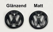 VW Zeichen Schwarz Matt Glänzend Vorne Golf 5 GTI GT TDI FSI Turbo Edition30 NEU