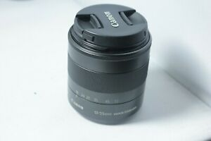 Canon EF-M 18-55mm F/3.5-5.6 STM IS Lens Excellent Condition